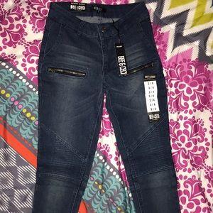 Fashion Nova Biker Jeans